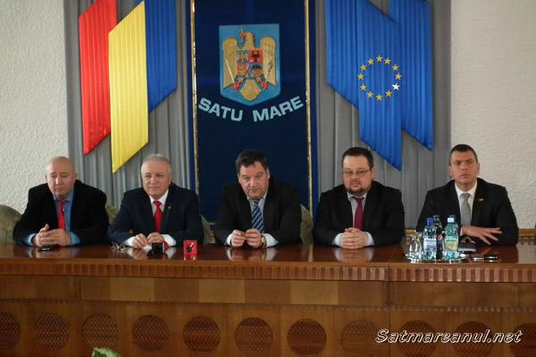 Ambasadorul Ungariei a efectuat azi o vizită la Satu Mare