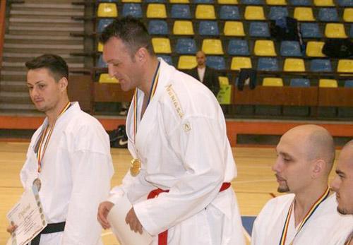 Sătmăreanul Florin Curileac, locul I la Campionatul de karate al MAI