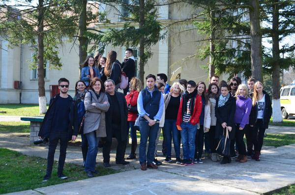 Liceul German a fost vizitat de un grup de elevi din Stuttgard