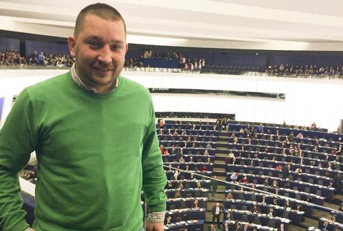 Gergely Butka  a participat la Strasbourg la o întâlnire privind comunicaţiile online