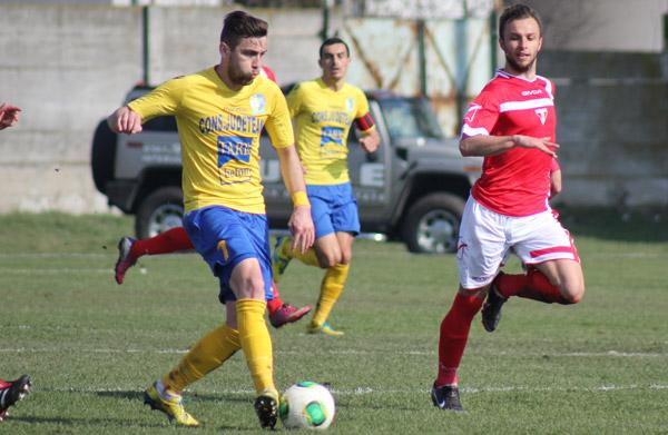 Olimpia a învins UTA Arad cu 2 la 0