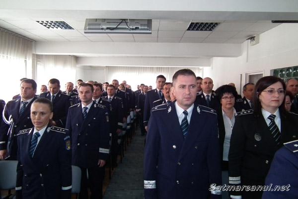 """""""Ziua Poliţiei Române"""", marcată şi la Satu Mare"""