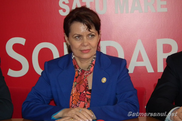 Ministrul Aurelia Cristea a efectuat azi o vizită la Satu Mare