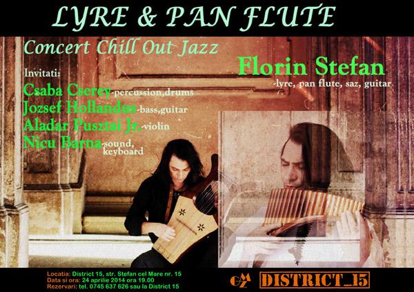 "Concert Chill Out Jazz la ""District 15"" din Satu Mare"