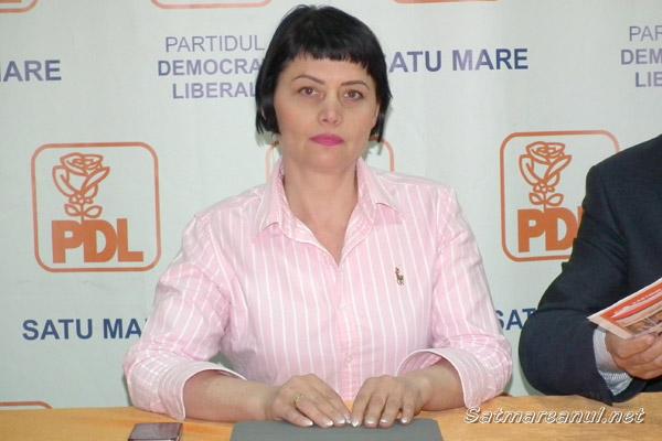 Ileana Blidar a preluat şefia Organizaţiei Municipale a PDL Satu Mare