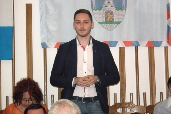 Ionuţ Bujor, preşedinte al Consiliului de Administraţie al SC Apaserv SA Satu Mare