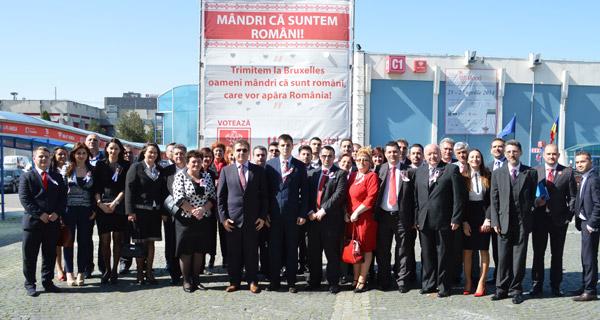 Delegaţie a PSD Satu Mare, la lansarea candidaţilor PSD-UNPR-PC