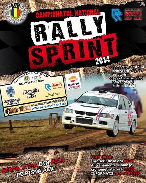 """Campionatul Naţional de """"Rally Sprint"""" 2014"""