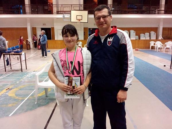 Două medalii pentru Teodora Şofran la concursul Fulop Mihaly