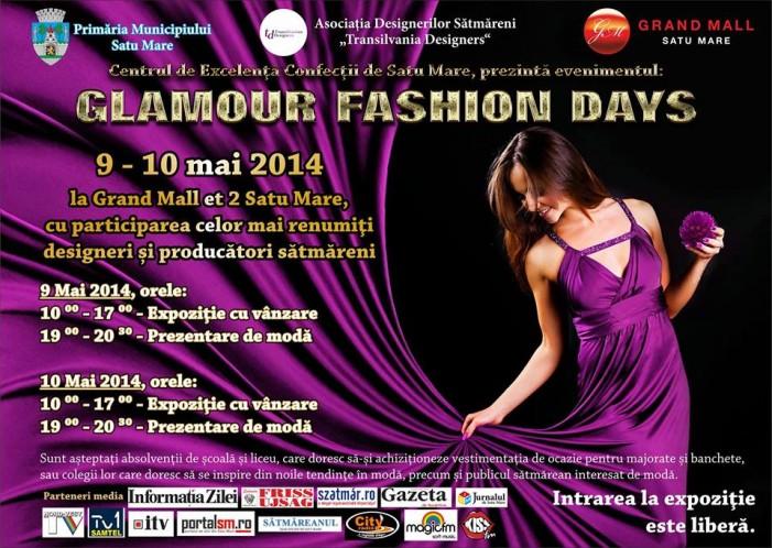 """""""Glamour Fashion Days"""", aduce noile tendinţe în modă la Satu Mare"""