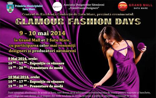 """""""Glamour Fashion Days"""" la Grand Mall Satu Mare"""