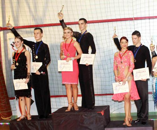 "Şase medalii pentru sportivii de la ""Royal Dance Club"" la ""Cupa Potaisa"" de la Turda"