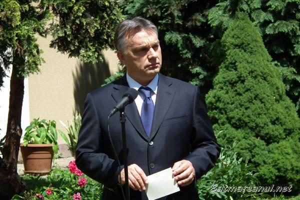 """Viktor Orban: """"este nevoie ca maghiarii să meargă duminică în număr cât mai mare la vot"""""""