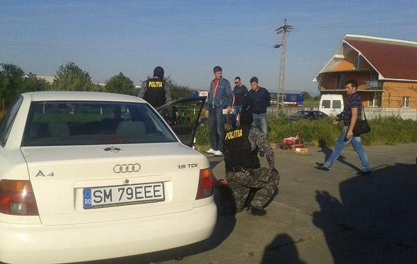 3 bărbați prinși cu 20.000 de euro falși