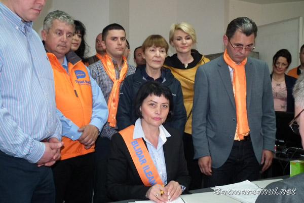 Ileana Blidar şi-a depus candidatura pentru alegerile parlamentare în Colegiul 2