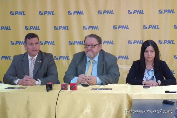 Virgil Enătescu este preşedintele interimar al PNL Satu Mare