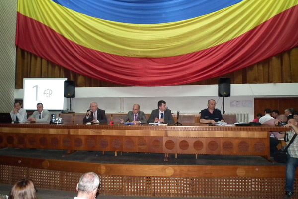 Şedinţă de instruire pentru alegerile europarlamentare