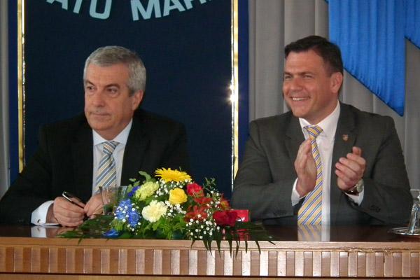 Călin Popescu Tăriceanu s-a înscris în PNL Satu Mare