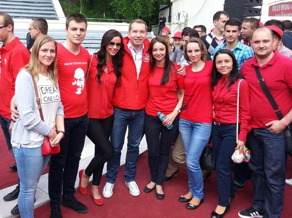 """Sătmăreni la """"TSD RULZ – Primăvara Social-Democrată"""""""