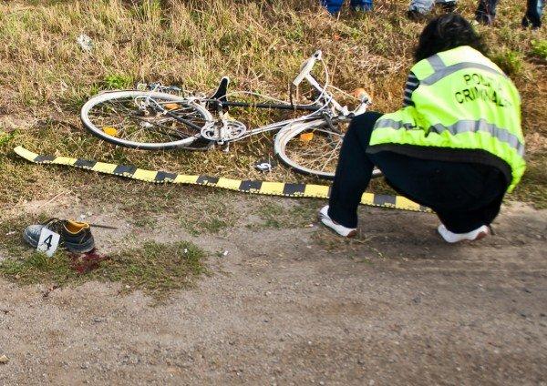 Biciclist accidentat mortal la Medieşu Aurit