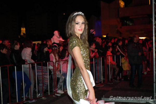 Alina Andreivna este Miss Satu Mare 2014