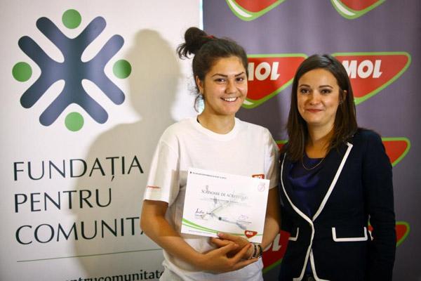 Sătmăreanca Amalia Tătăran este ambasadoare a programului MOL pentru promovarea tinerelor talente