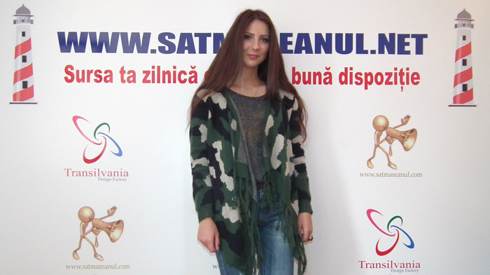 """Claudia Iarinco: """"Vreau ca numele meu să devină un brand în domeniul designului vestimentar"""""""