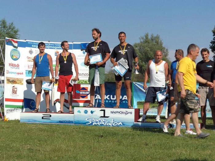 Sătmăreanul Rajmond Molnar a cucerit două medalii de aur la competiţiile de kaiac-canoe organizate în Ungaria