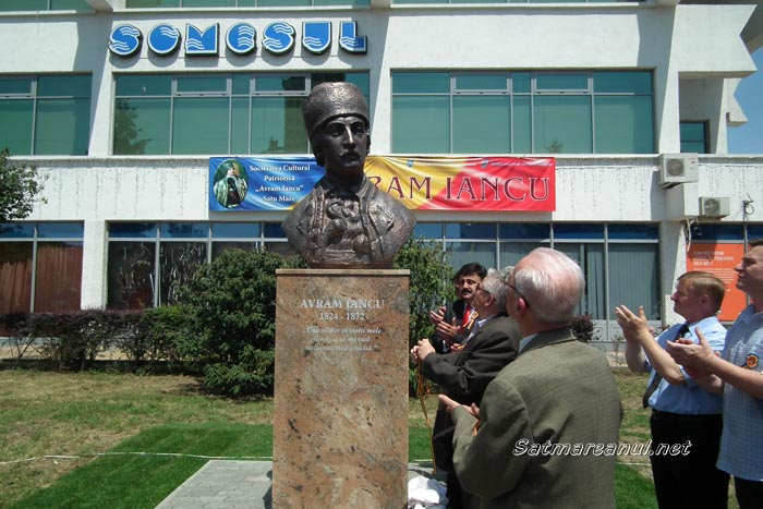 """S-a dezvelit bustul """"Crăişorului munţilor"""", Avram Iancu (galerie foto)"""