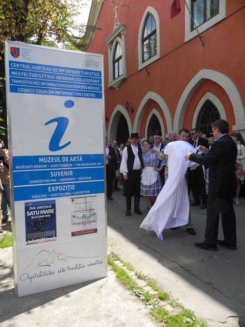 A fost inaugurat Centrul Judeţean de Informare Turistică Satu Mare