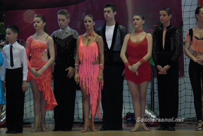 """Vezi rezultatele obţinute de dansatorii din Satu Mare la Concursul Naţional de dans sportiv """"Cupa Sătmarului"""""""