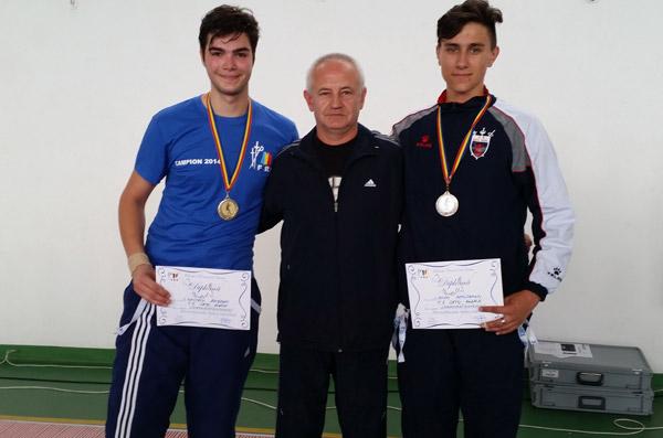 Bogdan Dascălu a câştigat titlul naţional la floretă tineret
