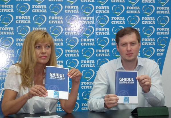 """Forţa Civică a lansat """"Ghidul Controlatului"""""""