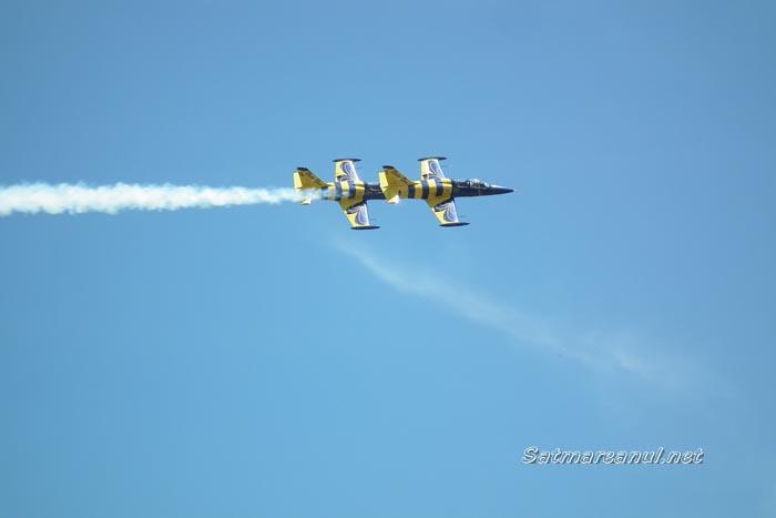 Spectacol aviatic pe cerul Sătmarului (galerie foto)