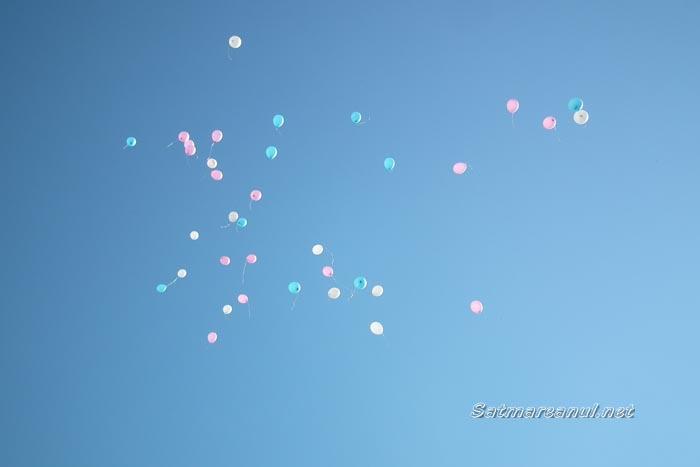 """Paula Por: """"Trimitem prin baloane spre cer, dragostea noastră"""""""
