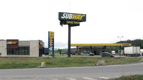 Subway în benzinăriile Petrom