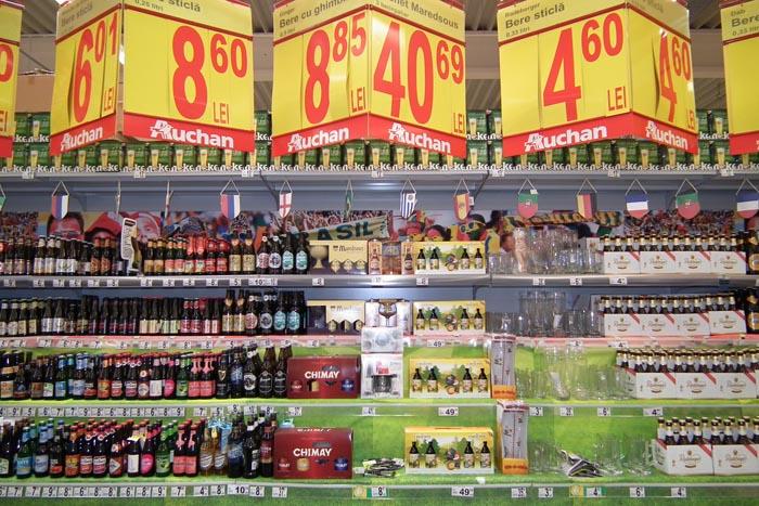 Vezi ce specialităţi găseşti la târgul de bere de la Auchan(galerie foto)
