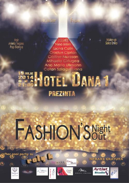 """Fashion's Night Out"", vineri seara, la Hotel ""Dana I"""