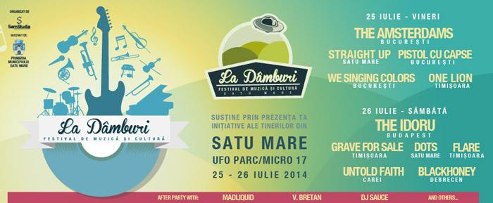 """Festivalul """"La Dâmburi"""", în Parcul UFO din Satu Mare"""
