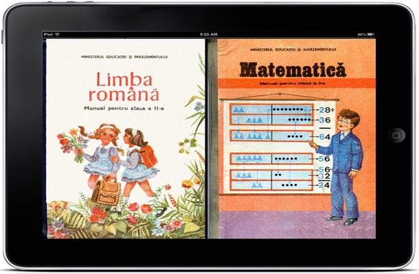 Elevii claselor I şi a II-a vor primi manuale noi şi în format electronic