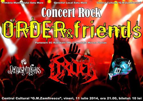 Concert rock cu două trupe din Satu Mare şi una din Marea Britanie