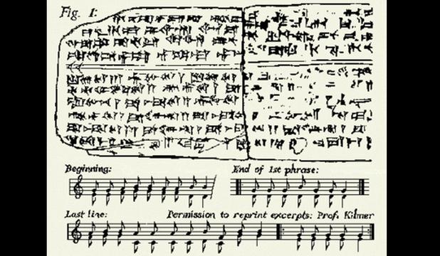 Ascultă cea mai veche piesă muzicală din lume !