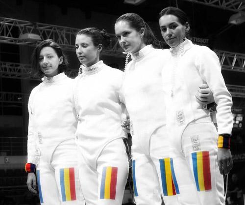 Echipa României, locul V în proba de spadă feminin la Campionatul Mondial de scrimă