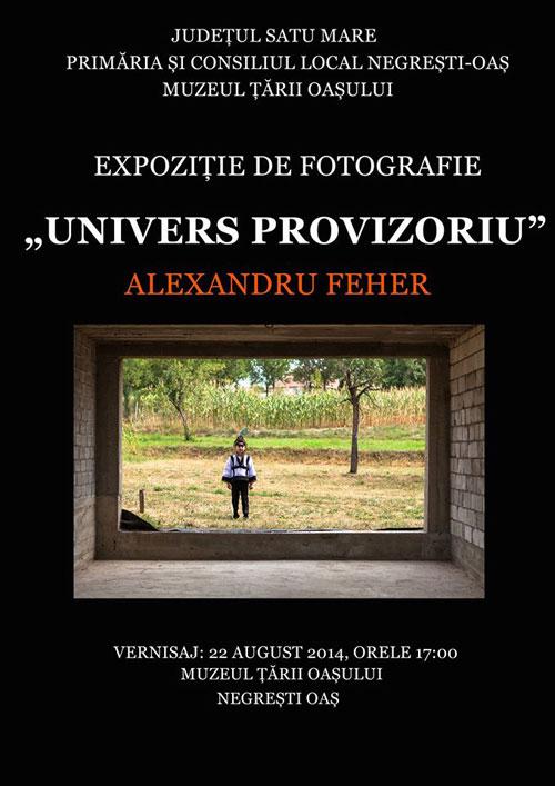 Alexandru Feher își expune instantaneele la Muzeul Țării Oașului din Negrești-Oaș