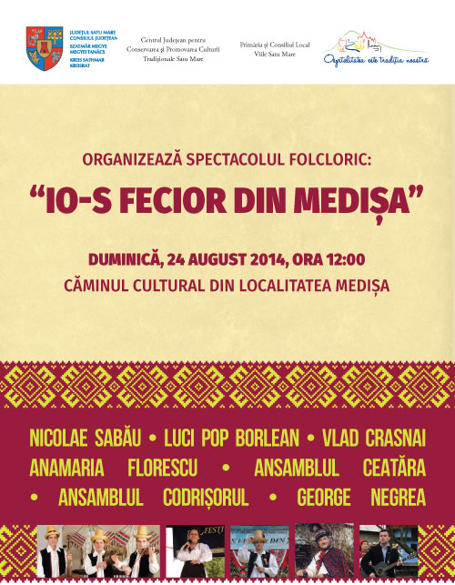 """Io-s Fecior din Medișa"", la a III-a ediţie"