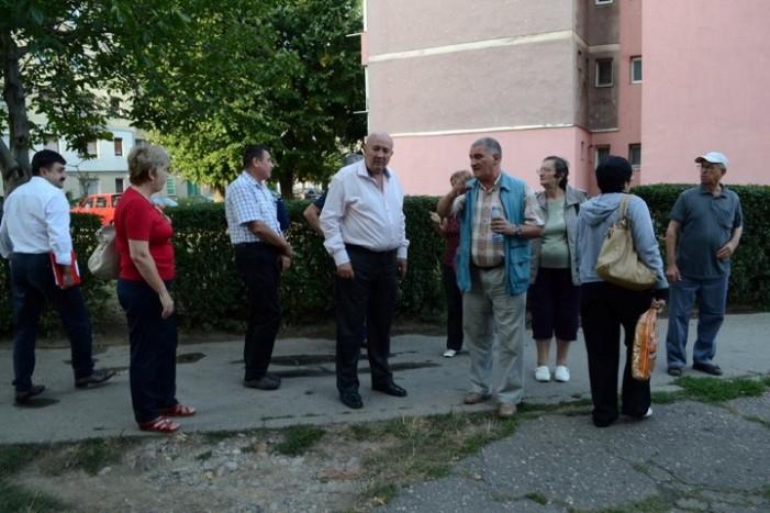Primarul municipiului Satu Mare s-a întâlnit cu cetățenii din Micro 14