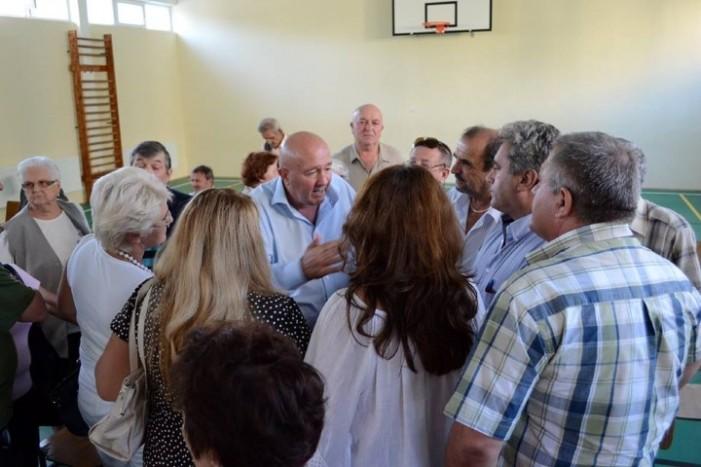 Dorel Coica s-a întâlnit cu cetățenii din cartierele Carpați I și II