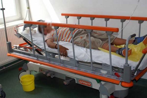 Un copil de 12 ani, a ajuns beat criță la spital