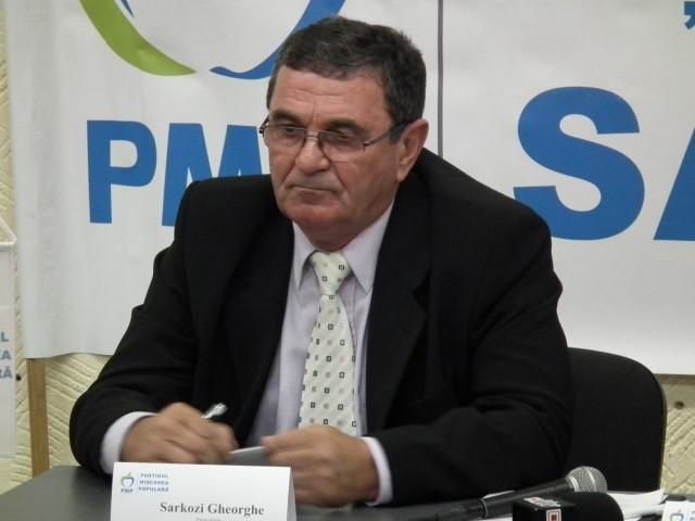 Gheorghe Sarkozi este preşedintele Organizaţiei Municipale a PMP Satu Mare