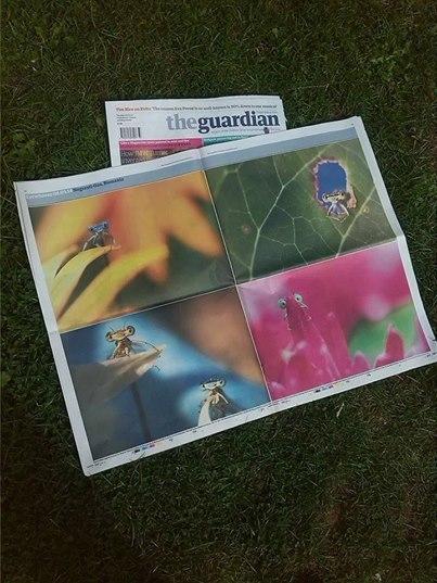 """Ziarul britanic """"The Guardian"""", dedică două pagini fotografiilor lui Remus Ţiplea"""